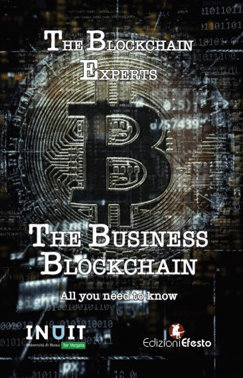 Copertina di The Business Blockchain. All you need to know