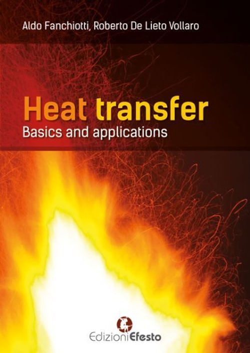 Copertina di Heat transfer. Basics and applications