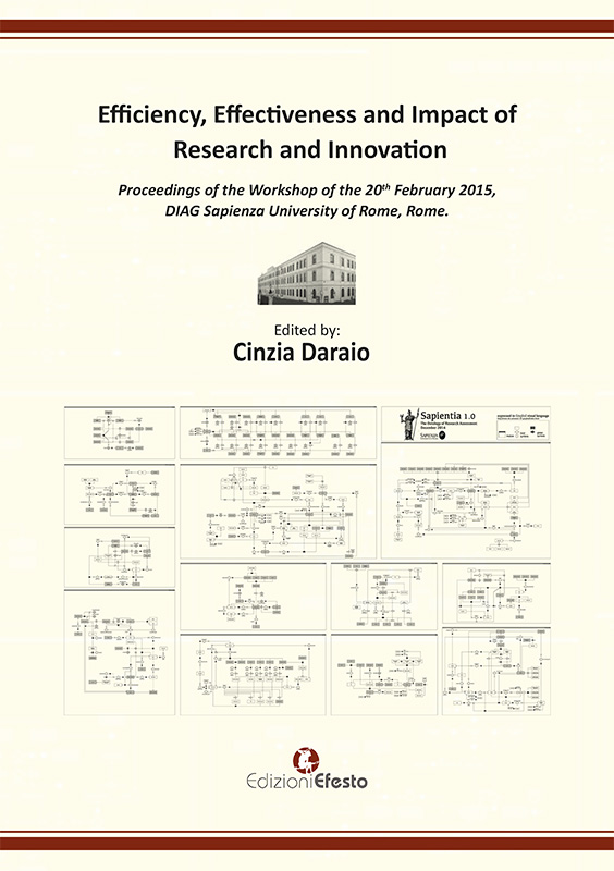 Copertina di Efficiency, effectiveness and impact of research and innovation